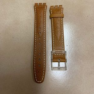 *New Generic Swatch® Watch Band Light brown*